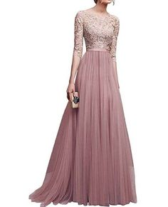 best=Robe Longue Robe Rose en Chiffon Et Dentelle Col Rond , Shop Sparkly Prom dresses and sequin formal dresses at Simply Dresses. Evening Dresses Online, Cheap Evening Dresses, Long Summer Dresses, Party Dresses For Women, Elegant Dresses, Prom Dresses, Long Dresses, Dress Online, Floral Dresses