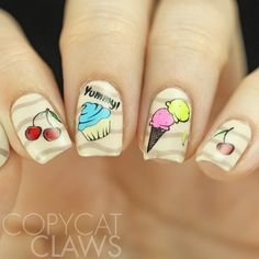 Copycat Claws: Clear Jelly Stamper Sweet Treats Stamping Plate