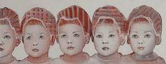 Edith Snoek - Google zoeken Beautiful Paintings, Contemporary Artists, Art For Kids, Portraits, Om, Abstract, Drawings, Artwork, Children