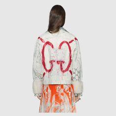 e283ddfd GucciGhost denim jacket Coats For Women, Lace Skirt, Ready To Wear, Jean  Jacket