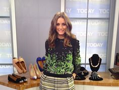 Olivia Palermo on the Today Show <3