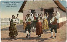 El U y el Dos (baile popular). En la huerta de Valencia Where To Go, Trip Planning, Portugal, Dance, Travel, Painting, Old Photography, Amor, Vestidos