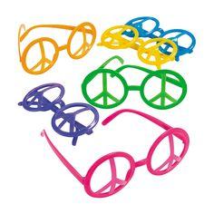 Peace Sign Eyeglasses - OrientalTrading.com