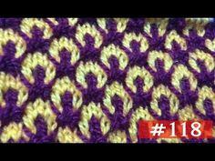 New Beautiful Knitting pattern Design #118 2018 - YouTube