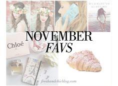 """Nuestros """"Favs"""" para el mes de Noviembre. ¡Descúbrelos! Blog, November, Blogging"""