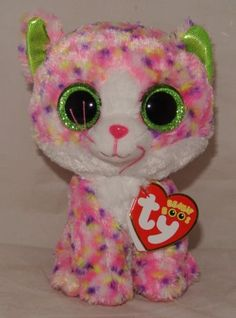 """MINT with MINT TAG TY BEANIE BOOS GIFT SHOW EXCLUSIVE DILL the 6/"""" GREEN DOG"""