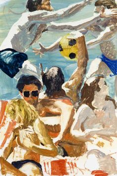 "Eric Fischl ""Study For Call Of The Ball"" 1993"