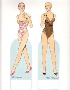 British Fashion Designers* 1500 free paper dolls at Arielle Gabriel's International Paper Doll Society for Pinterest paper doll pals *