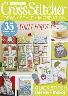 Cross Stitcher Magazine - May 2015 291 - CrossStitcher Cross Stitch Magazines, Cross Stitch Books, Cross Stitch Love, Cross Stitch Cards, Beaded Cross Stitch, Cross Stitch Samplers, Cross Stitch Designs, Cross Stitching, Cross Stitch Embroidery