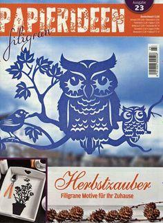 Herbstzauber - Filigrane Motive für Ihr Zuhause. Gefunden in: Papierideen filigran, Nr. 23/2015