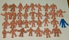 LOT OF 33 FIGURES M.U.S.C.L.E. Muscle Men Figures 1980s Flesh Mattel 80s