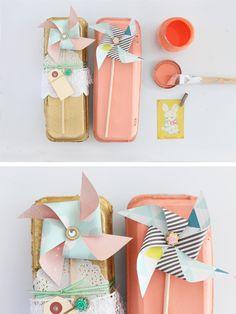 egg cartons and pinwheels » Be Crafty