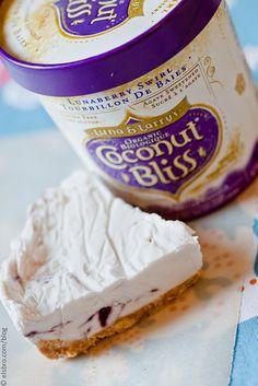 Coconut Milk Ice Cream Pie