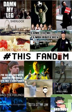 The Sherlock fandom is so awesomely creative and cracky at the same time. #BBCSherlock