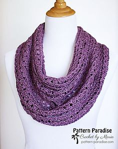 Ravelry: Eve's Scarf pattern by Maria Bittner