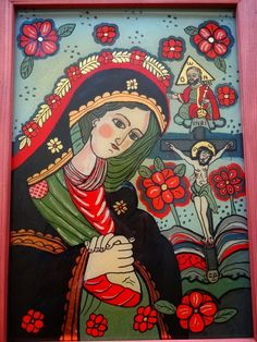 Icoane pe Sticla Religious Images, Religious Icons, Religious Gifts, Religious Art, House Of Gold, Altar Cloth, Orthodox Icons, Medieval Art, Mexican Folk Art