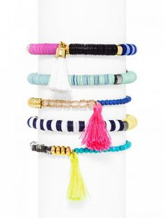 Ale by Alessandra x BaubleBar Cape Town Bracelet Set
