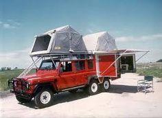 #Landrover defender : camper or train ?