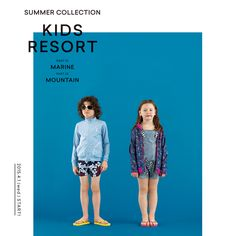 KIDS RESORT 2105 SUMMER COLLECTION Isetan's BOOK APARTMENTS , Artdirection by OUWN.