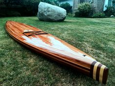 Wood Surfboard Supply Clearwater SUP Builder: Rod Tait Shaper: Randy Bogardus Frame design: Wood Surfboard Supply Brad Tucker