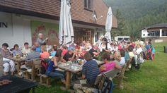 Grillabend auf der Strohsackhütte in Bad Kleinkirchheim,  Kärnten www.almrausch.co.at