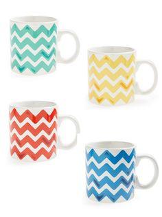 Chevron mugs
