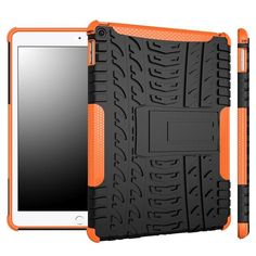 Del Full Protection Armor Hybrid PC+TPU Back Case Stand Cover For iPad Air 2 iPad 6 Mar15 #women, #men, #hats, #watches, #belts, #fashion, #style