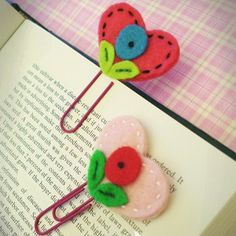 I Heart Reading Bookmark - If you or someone you know loves reading, then it's high time you learned how to create a bookmark that's totally adorable. Make a DIY bookmark that's both easy to sew and totally useful by following this simple sewing tutorial. Lightweight and pretty, this nifty accessory can accompany you and your good read conveniently. Sew one in a few minutes for yourself or make bookmarks with a bunch of young sewers.