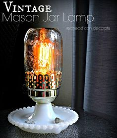 I can't believe I never thought about using a Mason Jar for a tissue dispenser before! This 5 Minute DIY Mason Jar Bathroom Tissue Dispenser is so cute! Mason Jar Bathroom, Mason Jar Diy, Mason Jar Crafts, Mason Jar Lamp, Glass Bathroom, Bathroom Sets, Mason Jar Projects, Diy Projects, Furniture Projects
