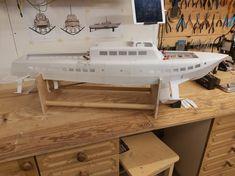 Tugboats, Small Boats, Ships, Loft, Furniture, Home Decor, Boats, Decoration Home, Room Decor