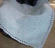 Shadows Baby Car Blanket - Cozy Crochet!