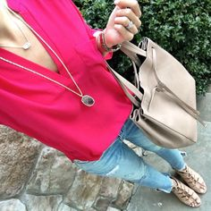 IG @MrsCasual <click through to shop this look> Hot Pink Lush Tunic outfit. Shop mrscasual.com now!