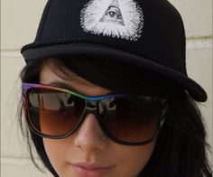 Show everyone your secret society pride....wait, scratch that.   ??? Cotton-twill foam front. spenditonthis.com