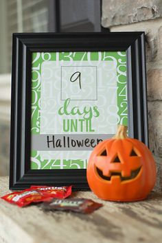 all things simple: free printable: countdown fill-able frame