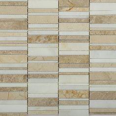 Shop For Rapids Pattern Desert Soils Marble Tiles at TileBar.com
