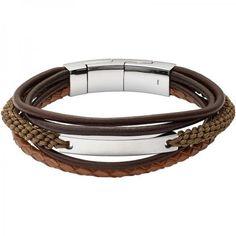 ed8840b25dc3 Men  s Fossil Bracelet Vintage Casual JF02703040 ... for sale online at  Crivellishopping