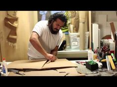 ADDED Ali Golzad.ART.Corrugated Cardboard - YouTube