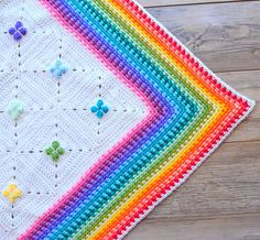 UPDATE 23 JUNE Courtney is currently finishing off her gorgeous blanket and is in the process of writing the pattern down for her border and also all notes to make a blanket just like hers! So please stay tuned, it will be released soon.