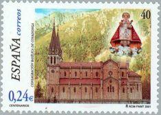Cent. Consagración Basílica de Covadonga - 2001