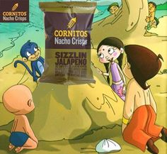 Cornitos Nachos Crisps is the new favourite snack of Dholakpur. Chotta Bheem and friends loving it very much. Do you like it as much they do?