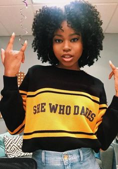 """Riele Downs – Personal Pics Downs attends Nickelodeon' Holiday Party With Casts Of """"Cousins For Life"""" And Teenage Hairstyles, Black Girls Hairstyles, Easy Hairstyles, Outfits For Teens, Girl Outfits, Nickelodeon Girls, Natural Hair Styles, Short Hair Styles, Pretty Black Girls"""