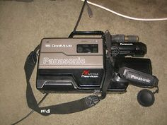 vhs camera recorder | Details about PANASONIC OMNIVISION VHS CAMCORDER VIDEO RECORDER CAMERA