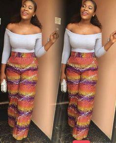 Ghanaian Fashion, African Fashion, African Tops For Women, Nigerian Outfits, African Wear, Ankara Styles, Fashion Online, Clothes For Women, Women's Clothes