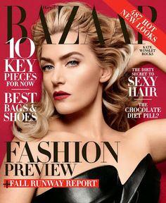 Kate Winslet | Harper's Bazaar USA - June/July 2014