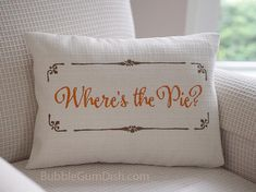 Zulily featured Where's the Pie Thanksgiving by BubbleGumDish, $40.00