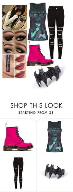 """Emo"" by unicorn-queen88 ❤ liked on Polyvore featuring Dr. Martens"
