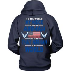 AIRFORCE - Niece Is My World - Back Design