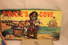 A thrilling Treasure Hunt. Gabriel Sons and Co. All American Doll, Pirates Cove, Board Game Design, Vintage Board Games, Mermaids, Gabriel, Boy Or Girl, Adventure, Toys