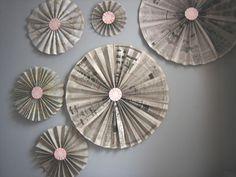 accordian pinwheel fan tutorial