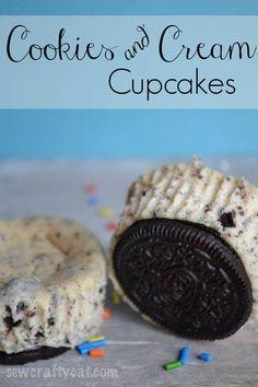 Cookies and Cream Cupcake Recipe